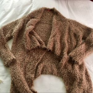 Sweaters - Fuzzy Cardi